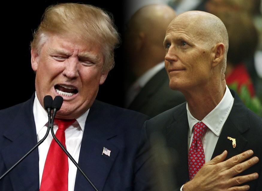 Rick Scott Endorses Donald Trump for President