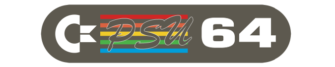 C64 PSU Genuine Logo