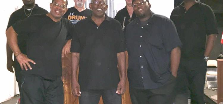 The band for Sister Act at Pistarckle Theater, St. Thomas