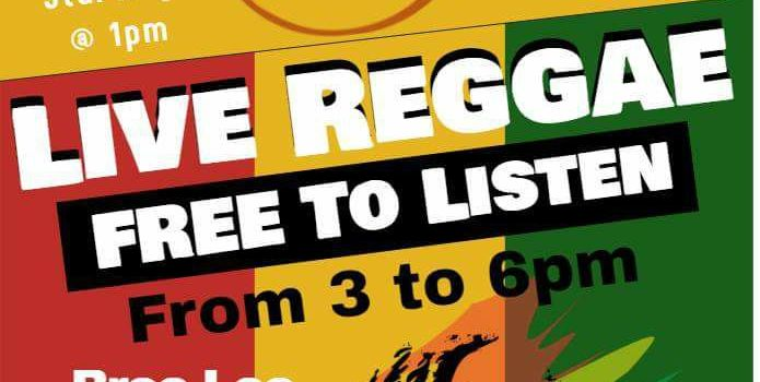 Enjoy Reggae This Saturday at The Rum Shandy in Frenchtown!