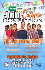 First Bank Junior Calypso 2018