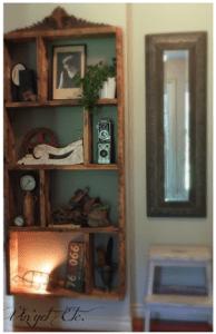 vin'yetetc - floating bookcase