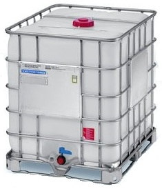 New 330 Gallon Ibc Tote Plastic Wine Storage Tank For Sale