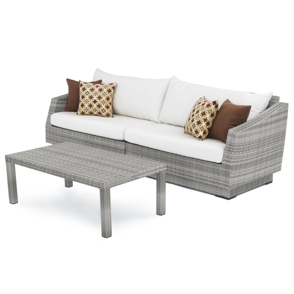 Cannes Sofa And Coffee Table Moroccan Cream RST Brands