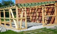 RSV Landkirchen: Neubau Schuppen