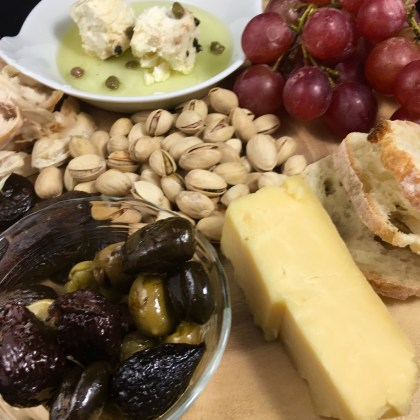 An Artful Hors d'oeuvre Tray