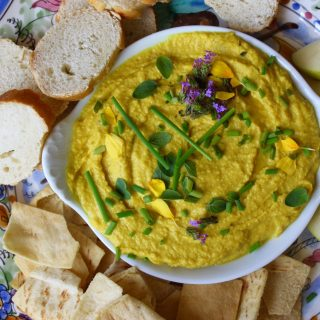Healthy, Happy Golden Beet Hummus