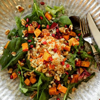 Warming Winter Salads