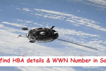How to find HBA Details & WWN in Solaris & RHEL