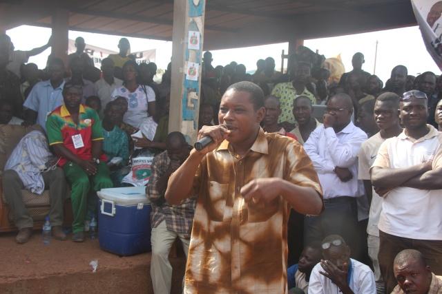Le Député du CNT Alexandre SANSARA a fait la genèse de la lutte contre le régime de Blaise COMPAORE portée par Me SANKARA