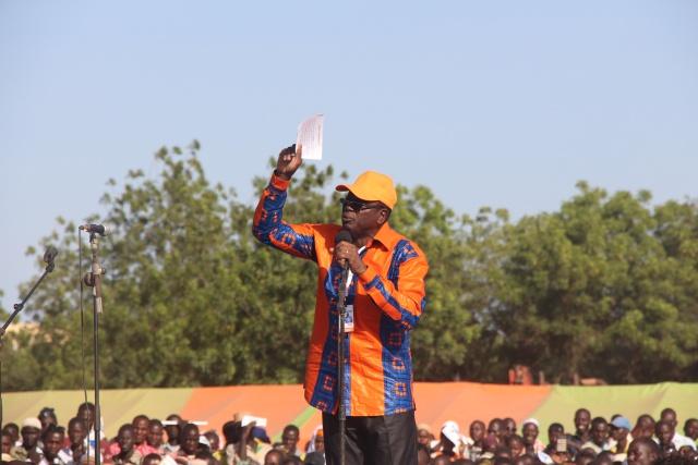 Pour le directeur provincial de campagne Bindi OUOBA, Fada respire et mange MPP