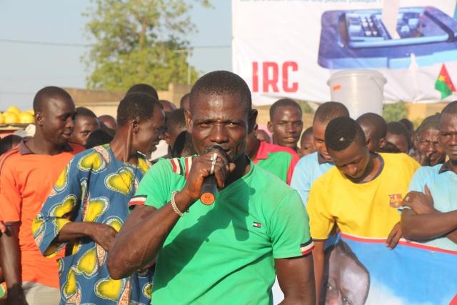 """Le représentant des jeunes dit placé leur confiance au candidat """"des insurgés"""""""