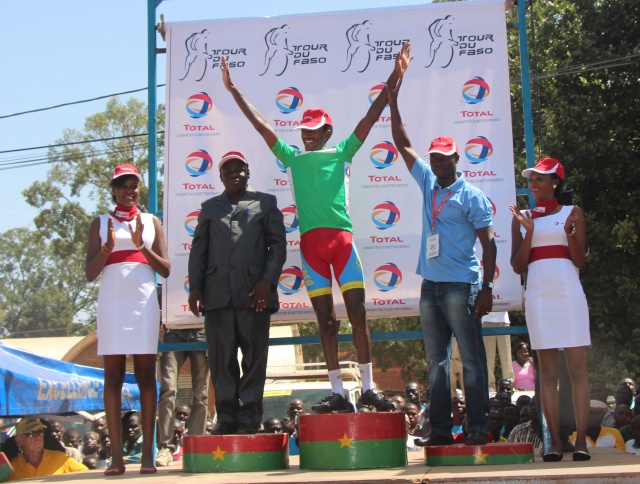 Le maillot vert récupéré par le vainqueur d'étape du jour