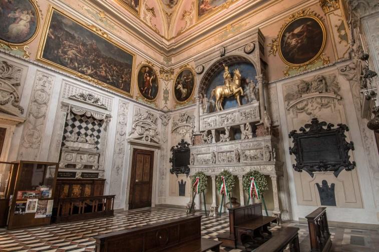 interno della Cappella Colleoni