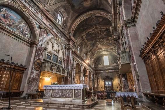 Chiesa dei SS. Bartolomeo e Stefano, dall'abside