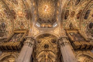 Volta navata centrale e Crocifisso, Basilica di Santa Maria Maggiore