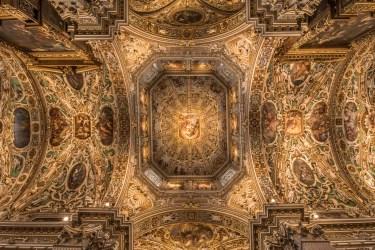 Volta della navata centrale, Basilica di Santa Maria Maggiore