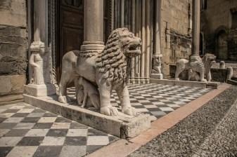 Porta dei Leoni bianchi, Giovanni da Campione, Transetto dx Santa Maria Maggiore