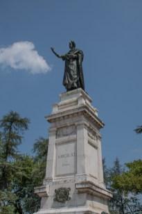 Monumento a Virgilio. Piazza Virgiliana