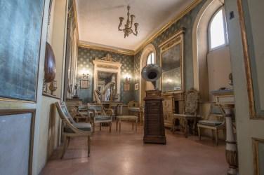 Sala della musica. Palazzo d'Arco