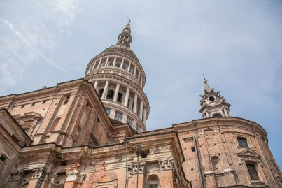 Basilica di San Gaudenzio a Novara da Via Bescapé