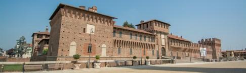 Castello Visconteo-Sforzesco di Galliate. Lato sud