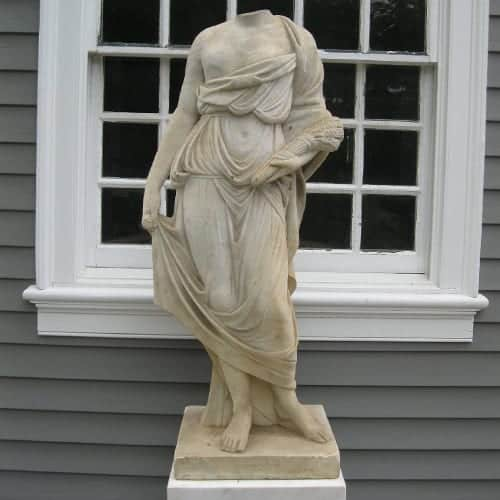 classical marble sculpture