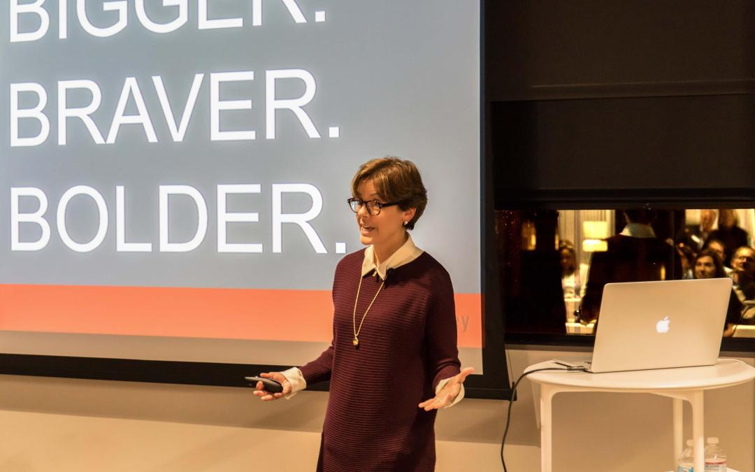 Bigger, Bolder, Braver: Content Advice from Ann Handley