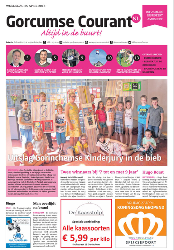 Adverteren in de Gorcumse Courant