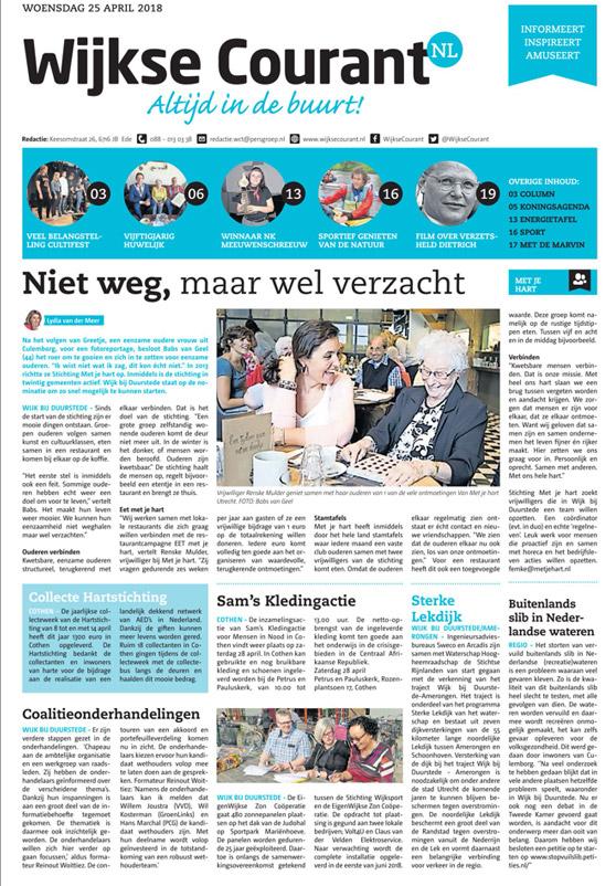 Adverteren in de Wijkse Courant