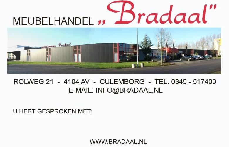 Meubelhandel Bradaal Culemborg