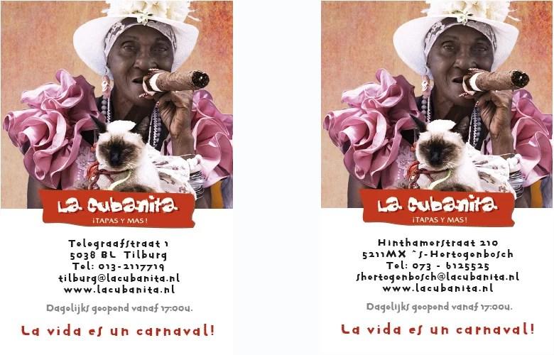 La Cubanita - Diverse locaties
