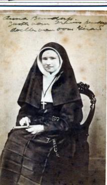 1868, approx Anna Bensdorp - fille de Gerardus-Bernardus Bensdorp (1812-1882)