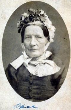 1870, approx Maria-Anna Boeren 1822-1900 mère d'Arnold der Kinderen 1857-1918