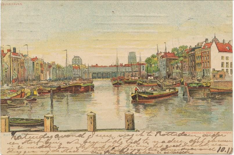 1908, Rotterdam carte der Kinderen -1