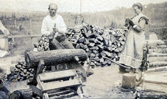 1912, Arnold et Johanna der Kinderen, Shawinigan