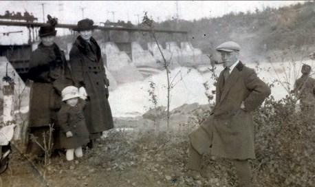 1919, Moe, Jeanne, Coba Krapels et Onkel
