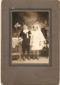1919, approx Albert Thivierge et Laurette Bergeron
