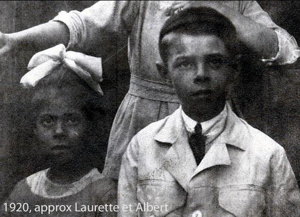 1920, approx Laurette et Albert Thivierge