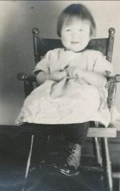 1921, 22 mars Henriette a 2 ans
