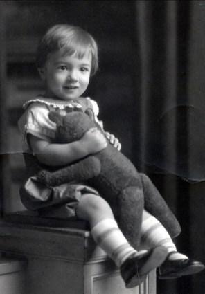 1927, Robert de Kinder à 2 ans