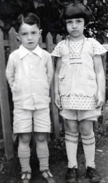 1928, Louis et Gaby de Kinder