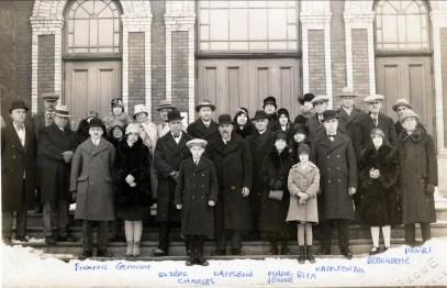 1928, nov Shawinigan, famille Fournier