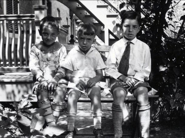 1931, Robert, Maurice et Louis