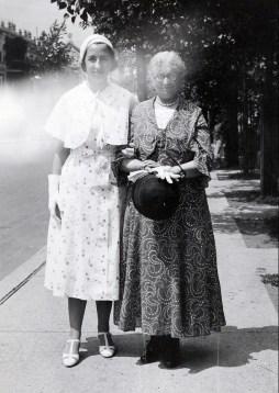 1932, Jeanne et Moe