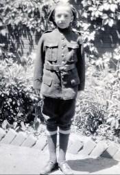 1937, Robert de Kinder, corps des cadets, école Lambert Closse