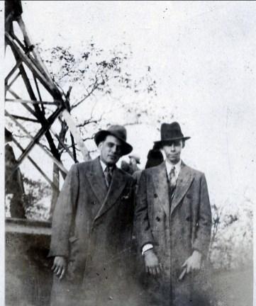 1938 approx Ti-Lou Lauréat Bergeron et Albert Thivierge