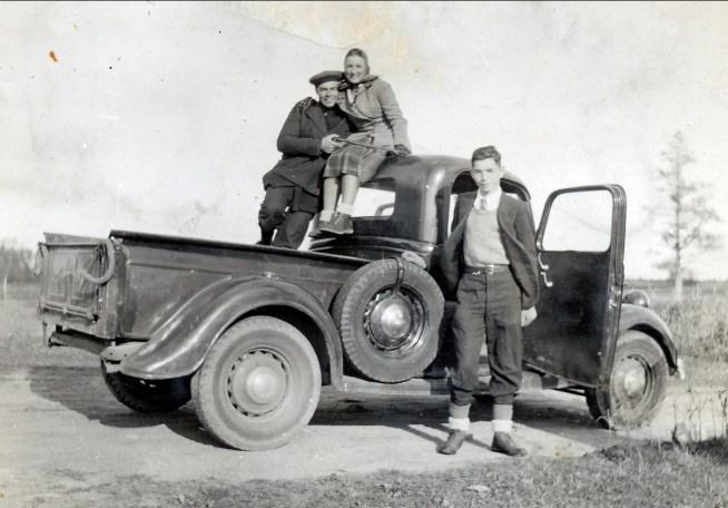 1939, Albert, Henriette et Louis