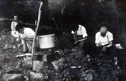 1939, Germaine,Louis, Robert et François de Kinder