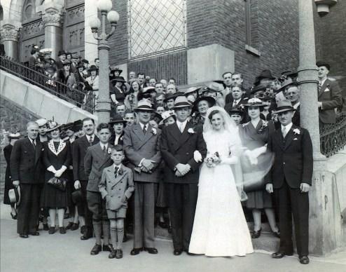 1940, 25 mai - Mariage Henriette et Albert Thivierge